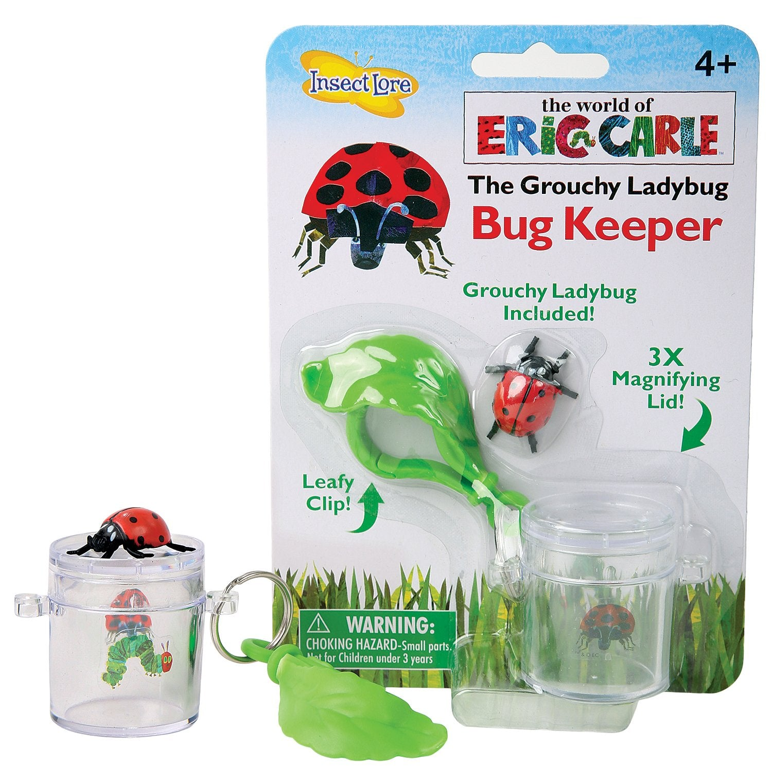 Insect Lore  Grouchy Ladybug Bug Keeper