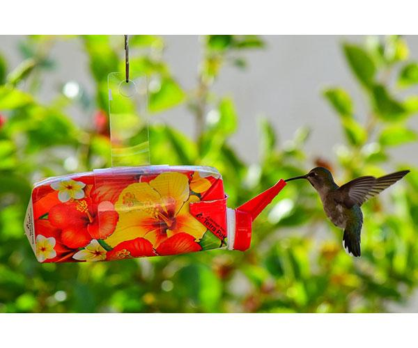 EZnectar hanging hummingbird feeder