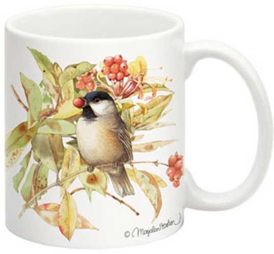 Black-Capped Chickadee 15 oz Mug