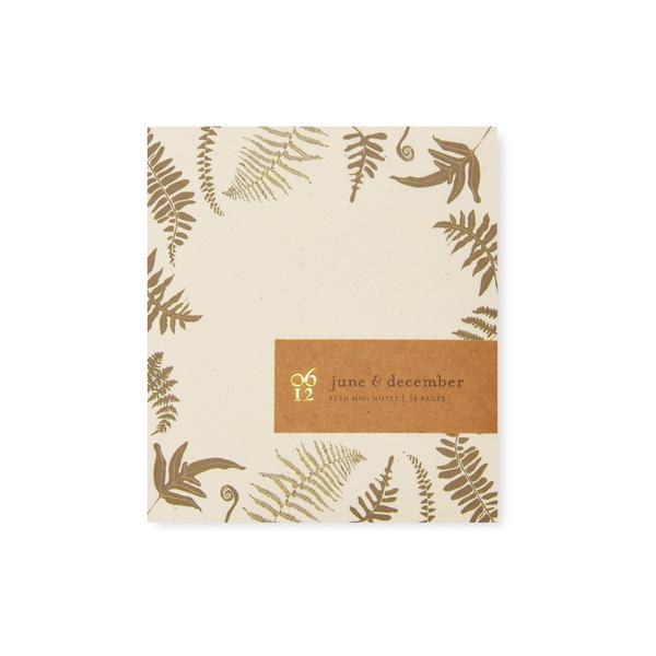 Fern Mini Notes notepad