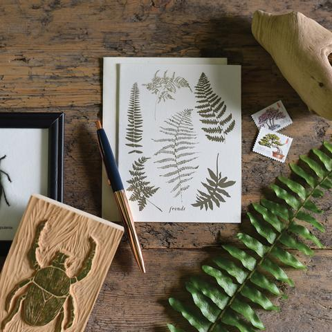 Fronds Cards - Boxed Set of 8 - 3