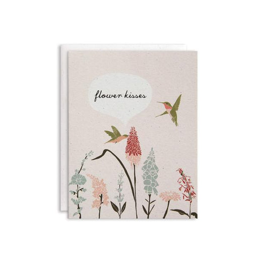 Flower Kisses Card