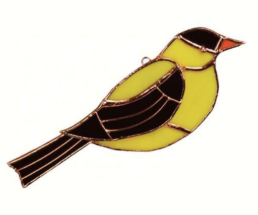 Stained Glass Goldfinch Suncatcher