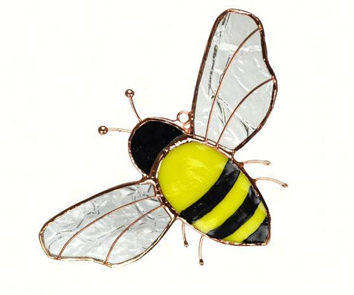 Stained Glass Bumble Bee Suncatcher