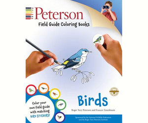 Peterson Field Guide Birds Coloring Book
