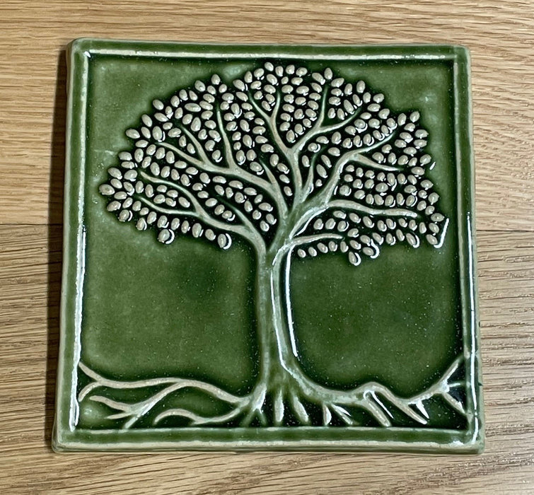 6x6 Tree of Life in Grass Green