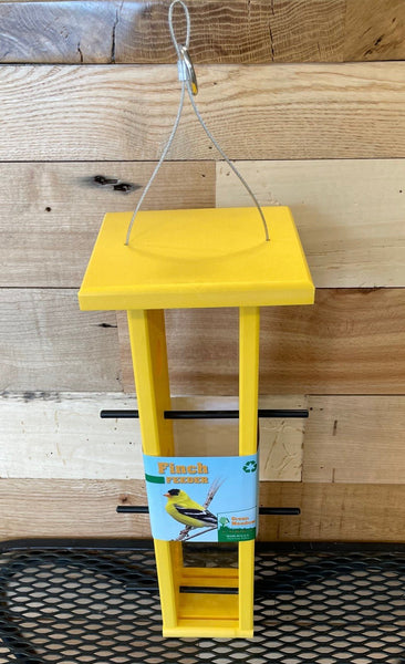 Finch Feeder in all Yellow