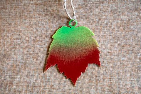 Red Maple #1 Leaf Ornament