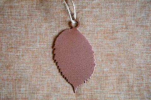 American Elm Leaf Ornament