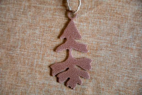 Bur Oak Leaf Ornament