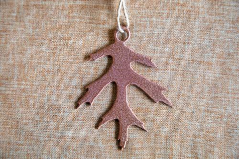 Black Oak #2 Leaf Ornament