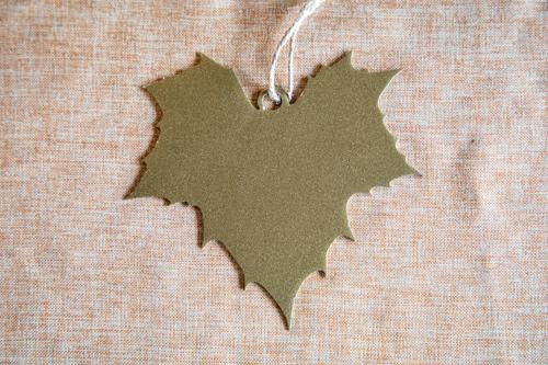 gold sycamore ornament