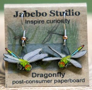 Jabebo dragonfly earrings