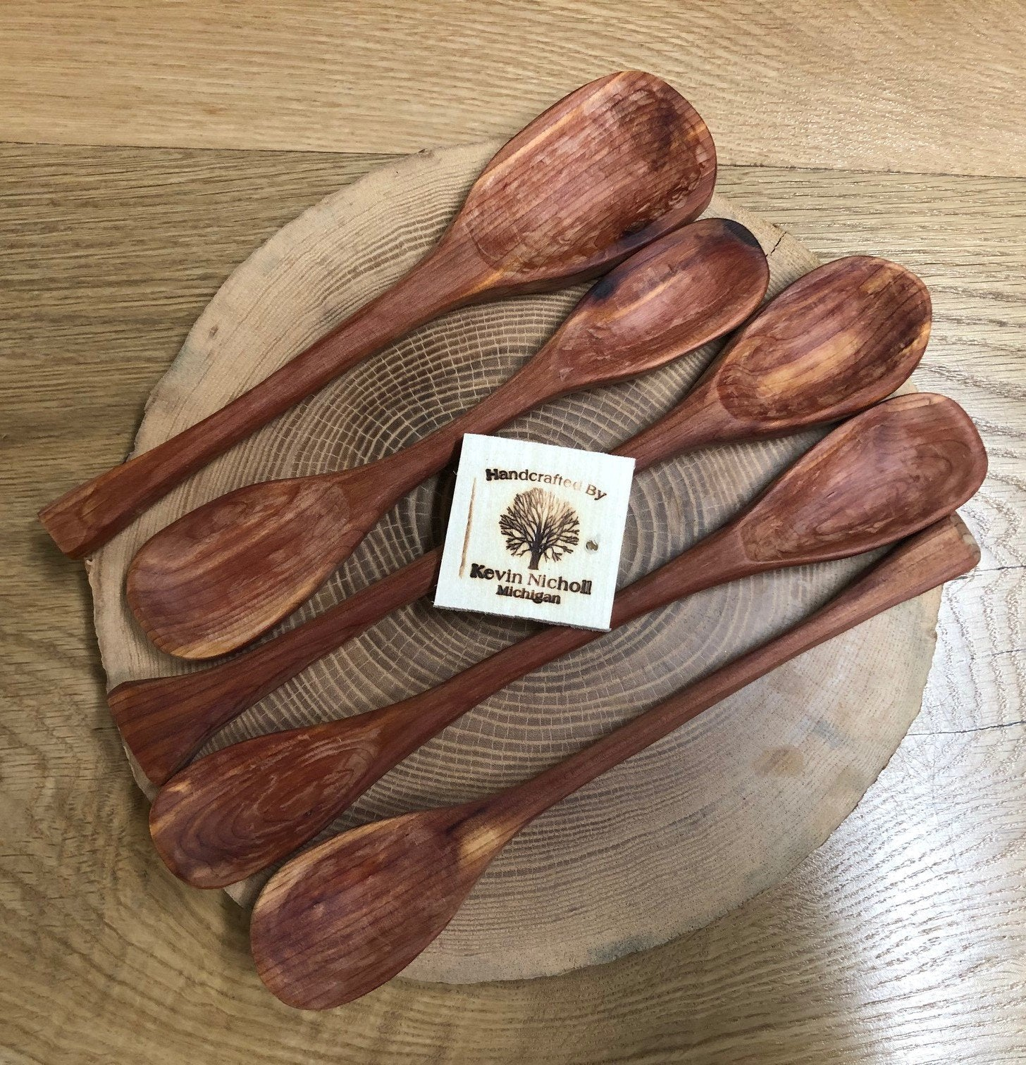 Medium Red-Cedar Spoons