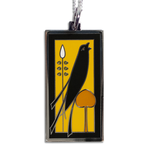 Songbird Pendant Necklace in Golden