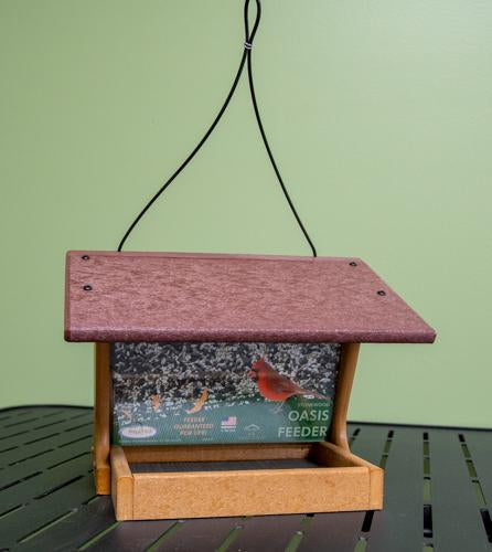 Oasis Recycled Bird Feeder