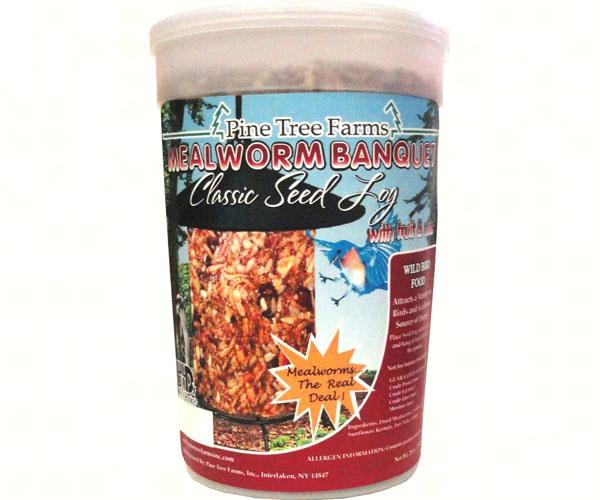 Mealworm Banquet Classic Seed Log