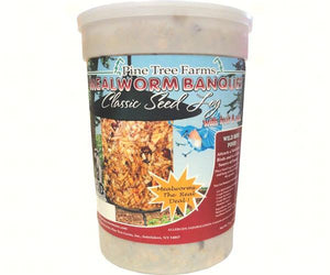 Pine tree farms Mealworm Banquet Classic Seed Log