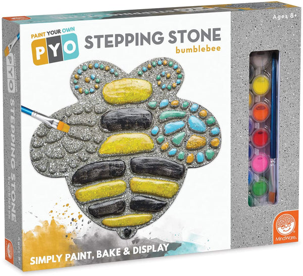 Paint Your Own Stepping Stone: Bumblebee