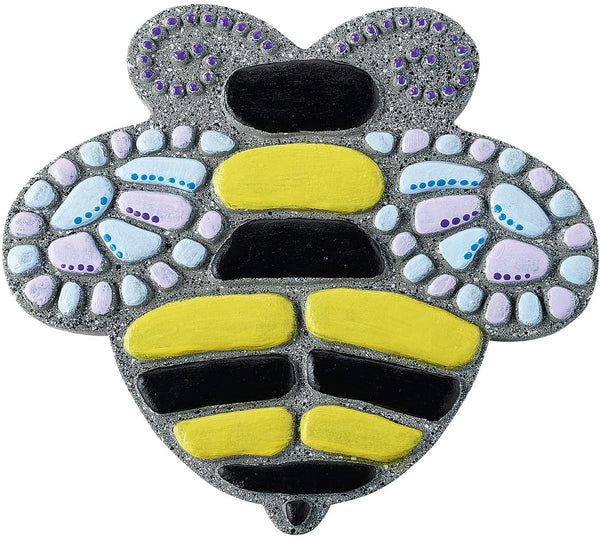 finished paint your own bee stone