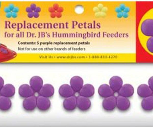 Purple Replacement Petals for Dr. JB's Hummingbird Feeders