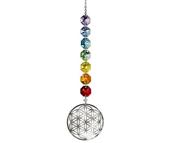 Flower of Life Crystal Radiance Cascade