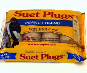 Peanut suet plugs with eco friendly package