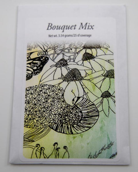 bouquet mix packet