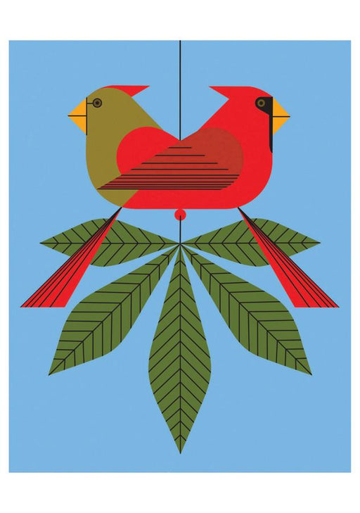 CHARLEY HARPER: CARDINALS consorting