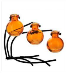 Casablanca Vase Set Orange