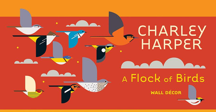 Charley Harbor Bird wall decorations
