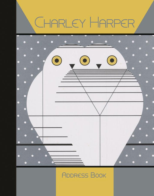Charley Harper deluxe address book cover