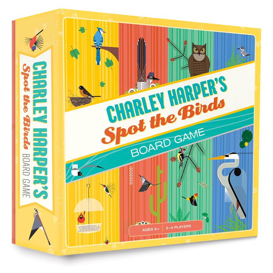 CHARLEY HARPER'S SPOT THE BIRDS BOARD GAME
