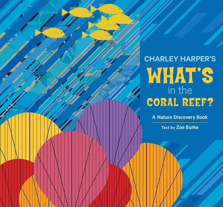 Charley Harper Coral Reef book cover