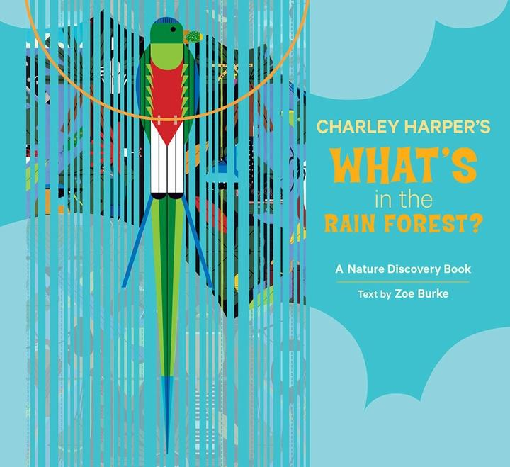 Charley Harper Rain Forest book cover