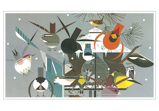 Charley Harper winter holiday cards