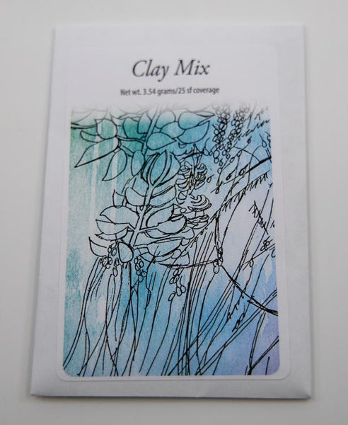 clay mix packet