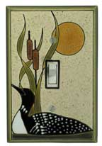 Loon Sand Light Switch Plate Cover