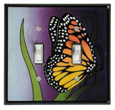 Monarch Double Light Switch Plate