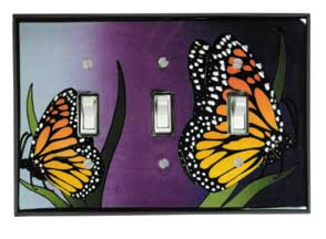 Monarch Triple Light Switch Plate