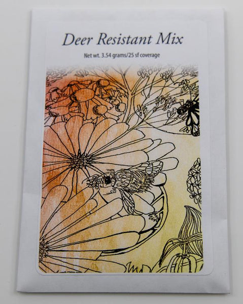 deer resistant mix packet