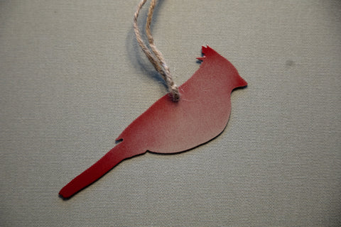Female Cardinal Ornament