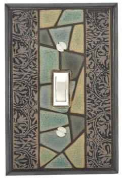 Flagstone Light Switch Plate Covers