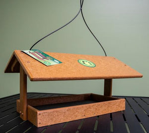 Fly Thru Recycled Feeder