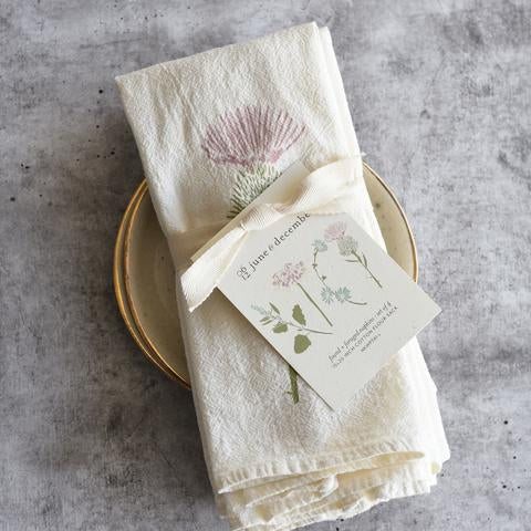 Found & Foraged Napkin Set 2