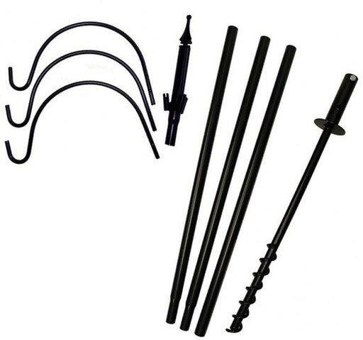 5 Piece Feeder Pole Set with Twist and Trio Hook