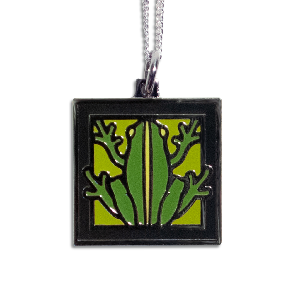 Motawi Frog pendant necklace