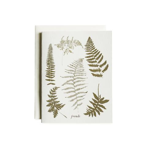 Fronds Cards - Boxed Set of 8 - 1