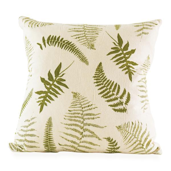 June and December Fronds Pillow