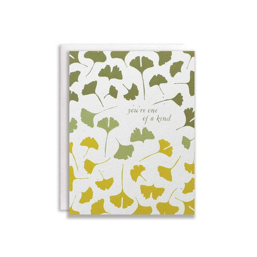 Ginkgo One of a Kind Card